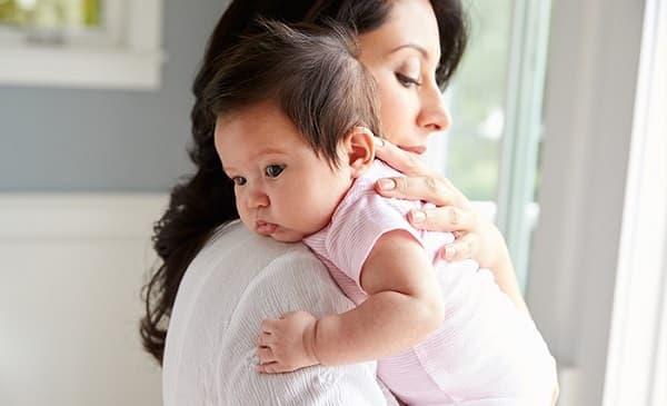 جلوگیری از بالا آوردن شیر در نوزادان